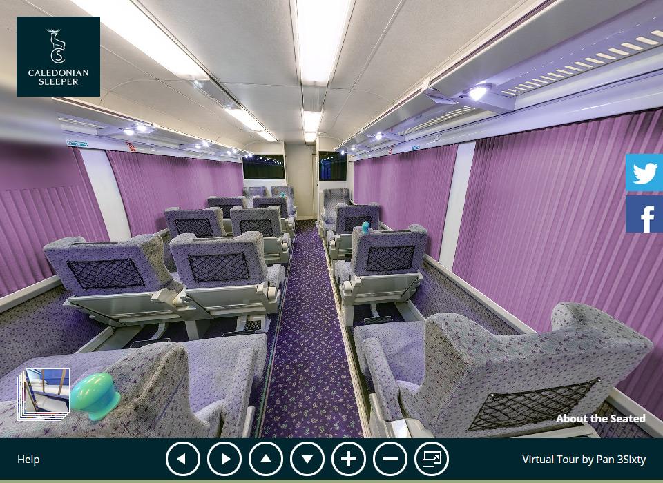 & Caledonian Sleeper 360° Virtual Tour islam-shia.org